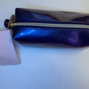 Sonia Kashuk Purple Large Pencil Case Makeup Bag